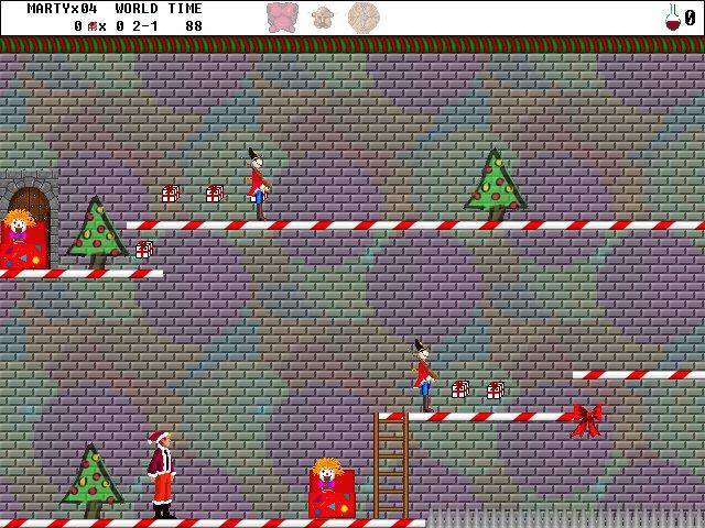 Screenshot vom Programm: Byteria Heroes: Marty rettet Weihnachten